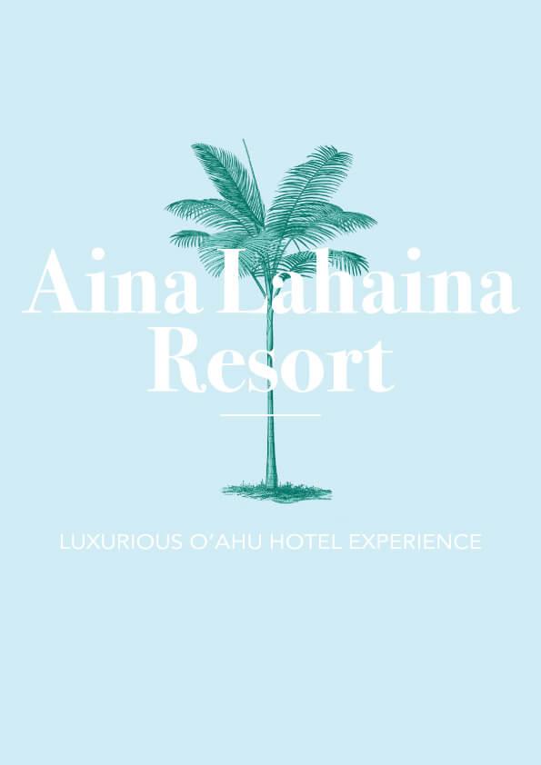 Aina Lahaina Resort // The Logo Series #logodesign #thelogoseries #vintagebranding #hawaii #design #designblog