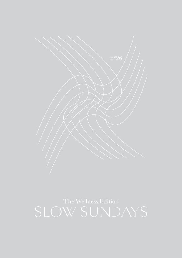 TWE NO.26 // Slow Sundays (by Phylleli) #design #graphicdesign #minimalism #selfcare #selflove #thewellnessedition #branding #logodesign