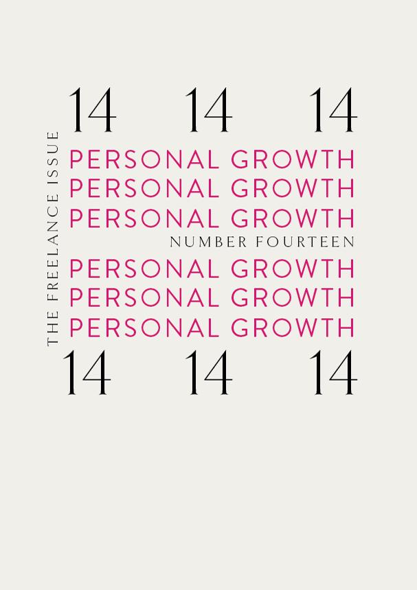 TFI NO.14 // Personal Growth (Phylleli) #typography #design #graphicdesign #selflove #selfworth #selfcare #designblog #wellnessblog #mentalhealth #personaldevelopment #identitydesign #branding #visualidentity