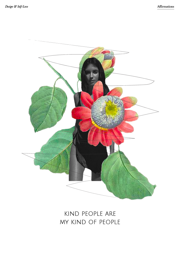 kind people are my kind of people // affirmations (Phylleli Design Studio and Blog)