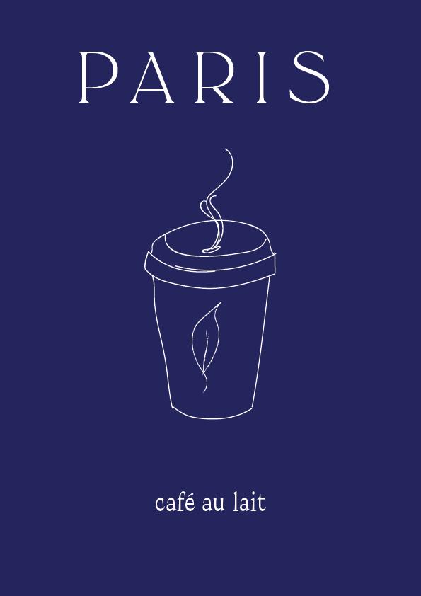Café Au Lait Paris // Phylleli Design Studio and Blog