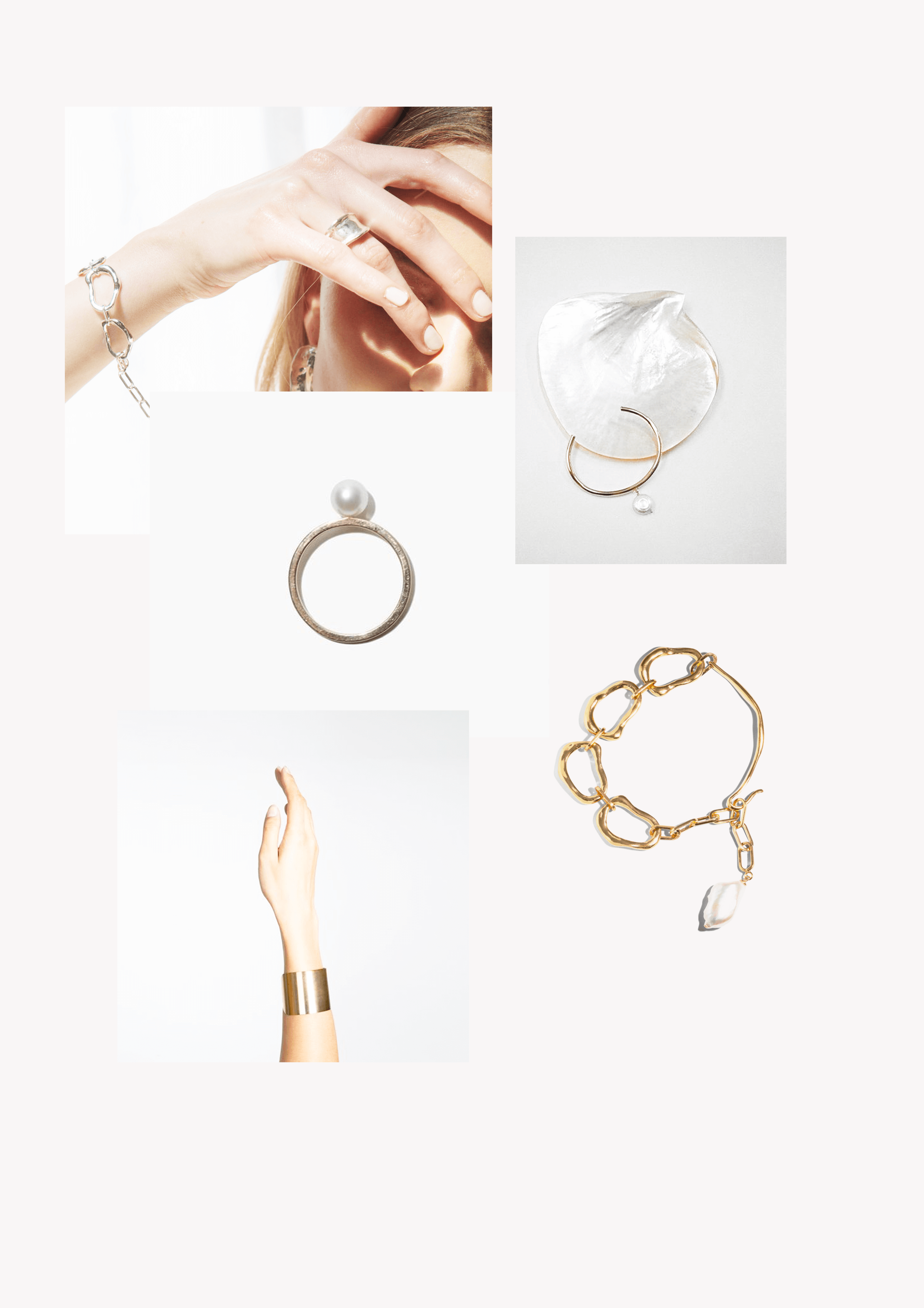 Jewelry Collection Mood Board // Phylleli Design Studio and Blog