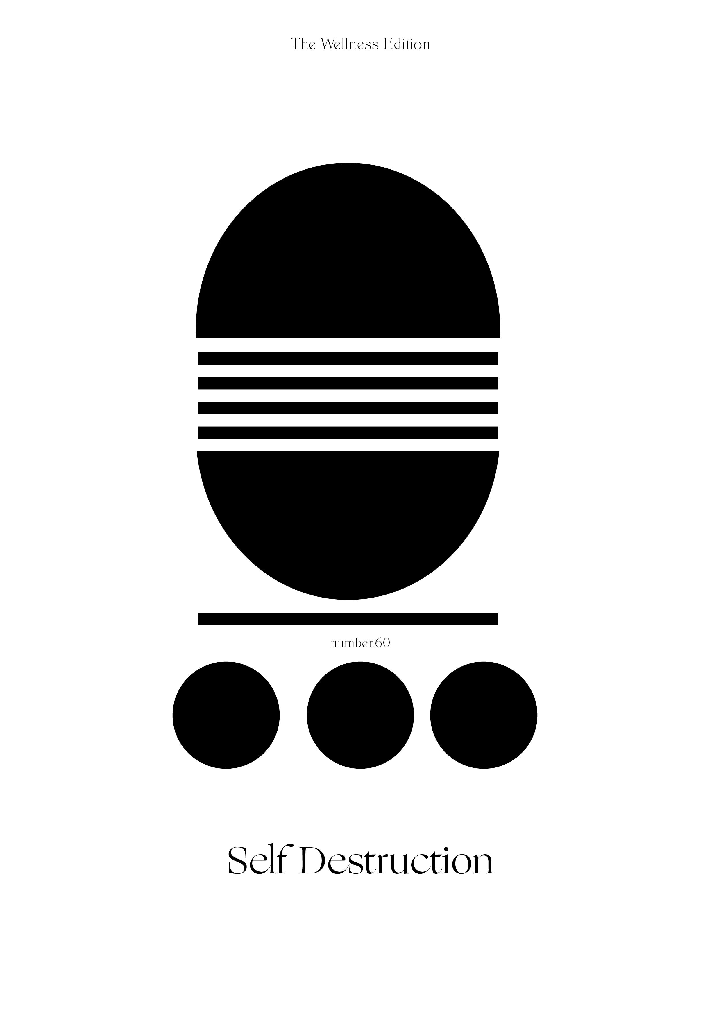 The Wellness Edition No.60 // Self-Destruction