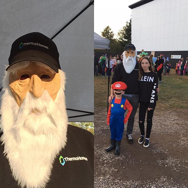 Halloween at the Valley Drive In.  Old father winter is in his way, time to insulate your home!