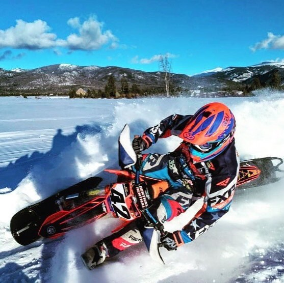 Congrats @thejessektm42 on a silver medal at this years #WinterXGames! Glad to have you using our #snowbike fork bottoming kit!