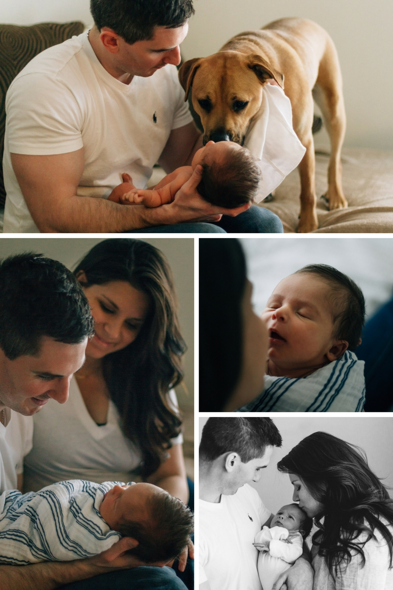 rich and moody newborn lifestyle photography - laura barr photography