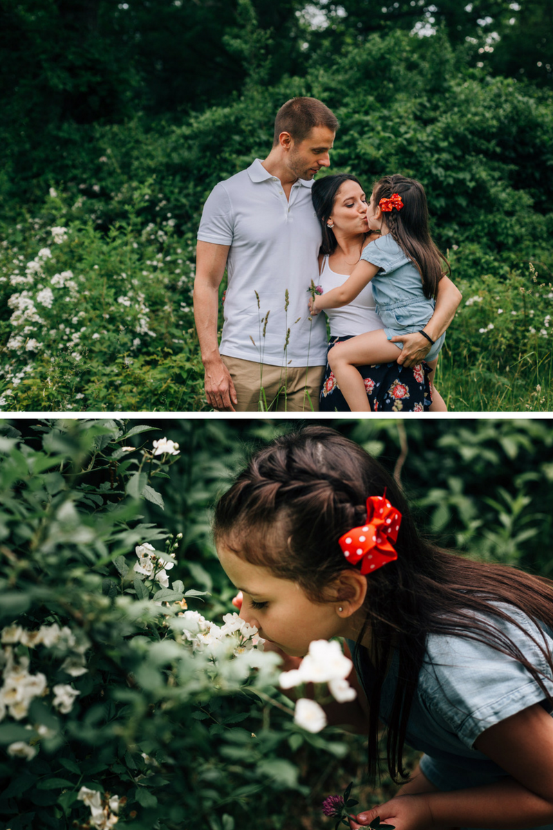 family garden session by laura barr photography