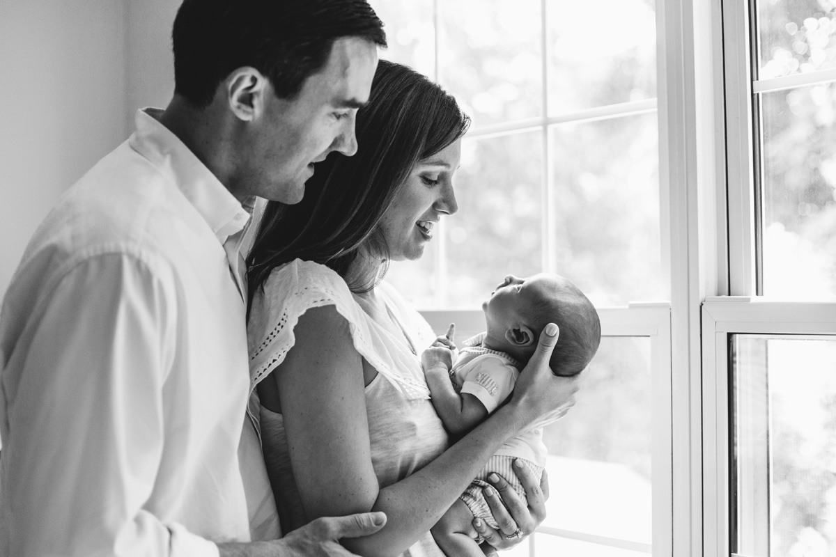 parents and baby - laura barr photography