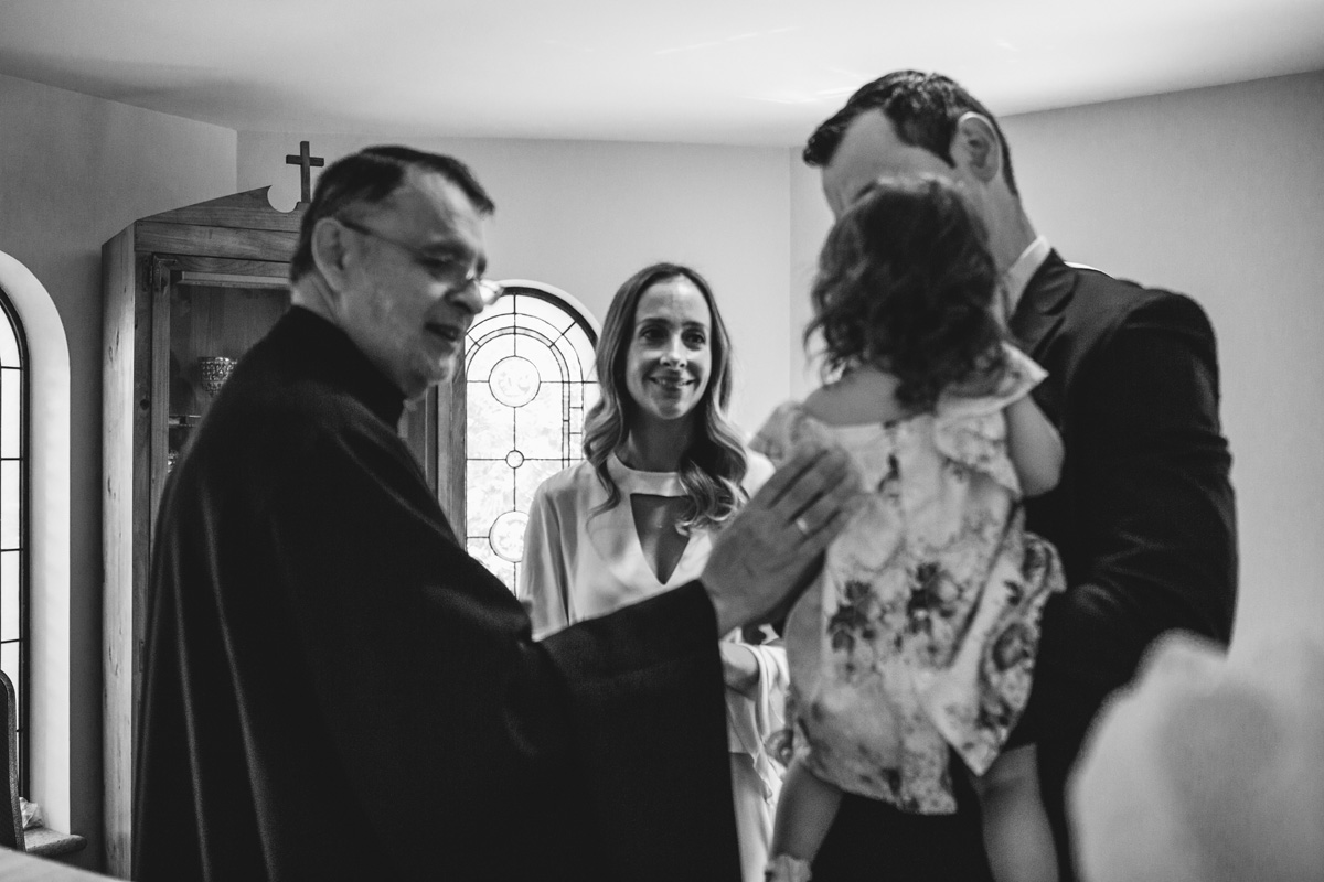 meeting the priest