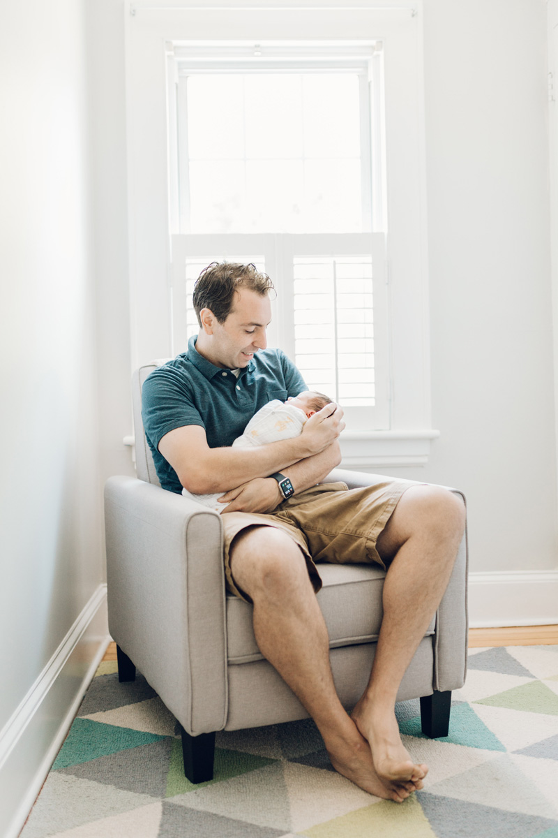 dad and daughter early days by laura barr photography
