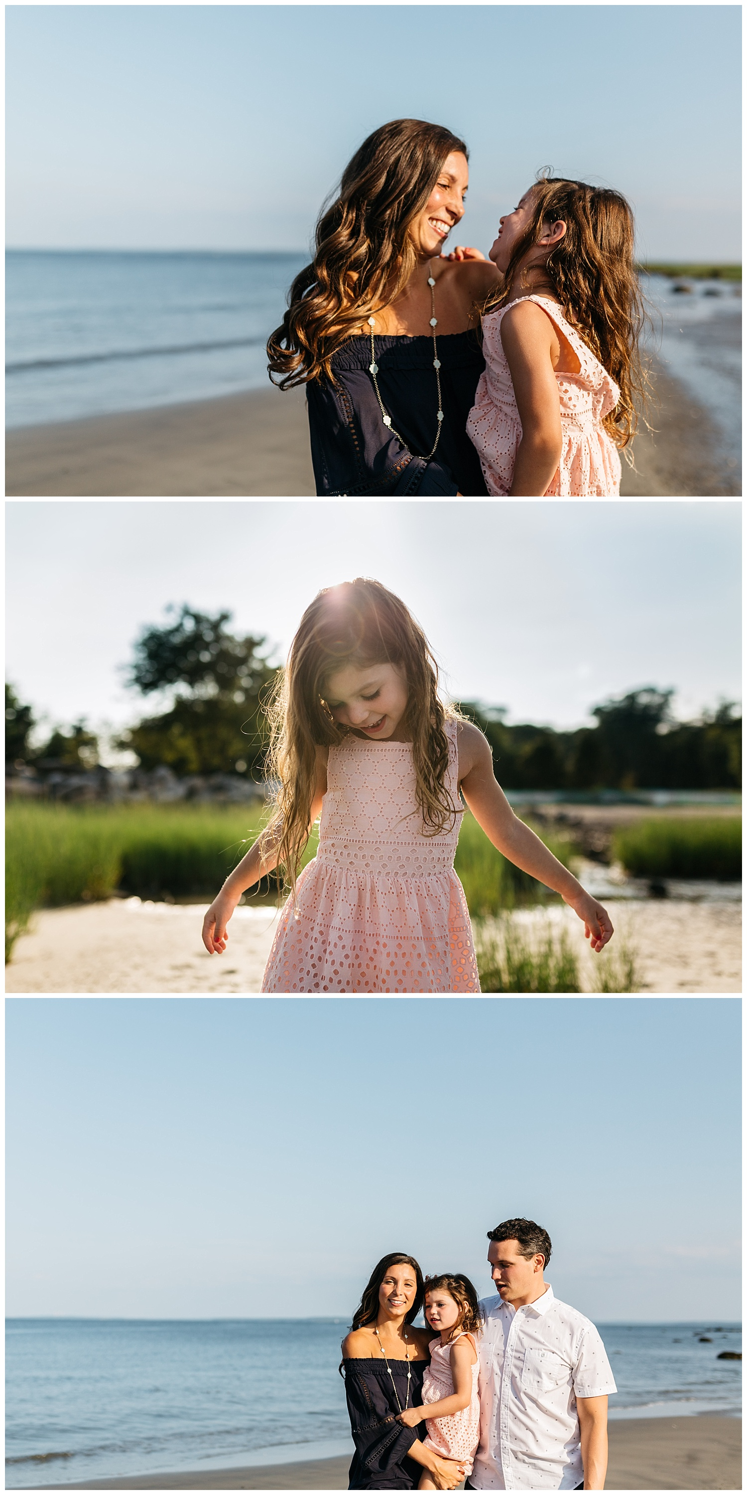beautiful family session at tods point by laura barr photography