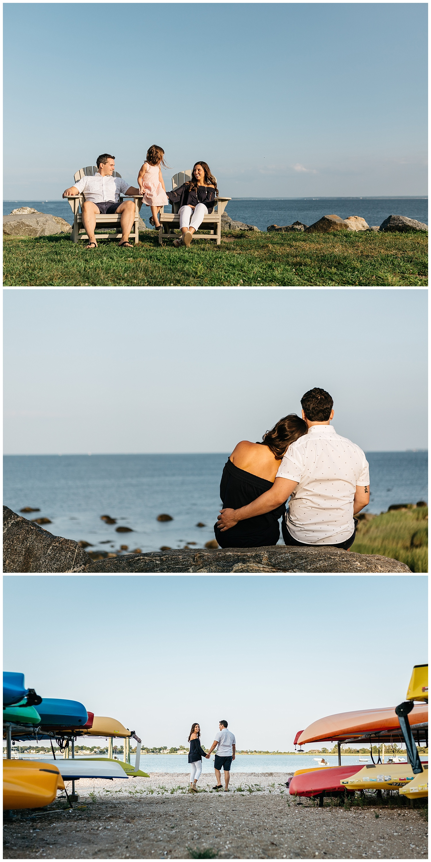 tods point family engagement session by laura barr photography