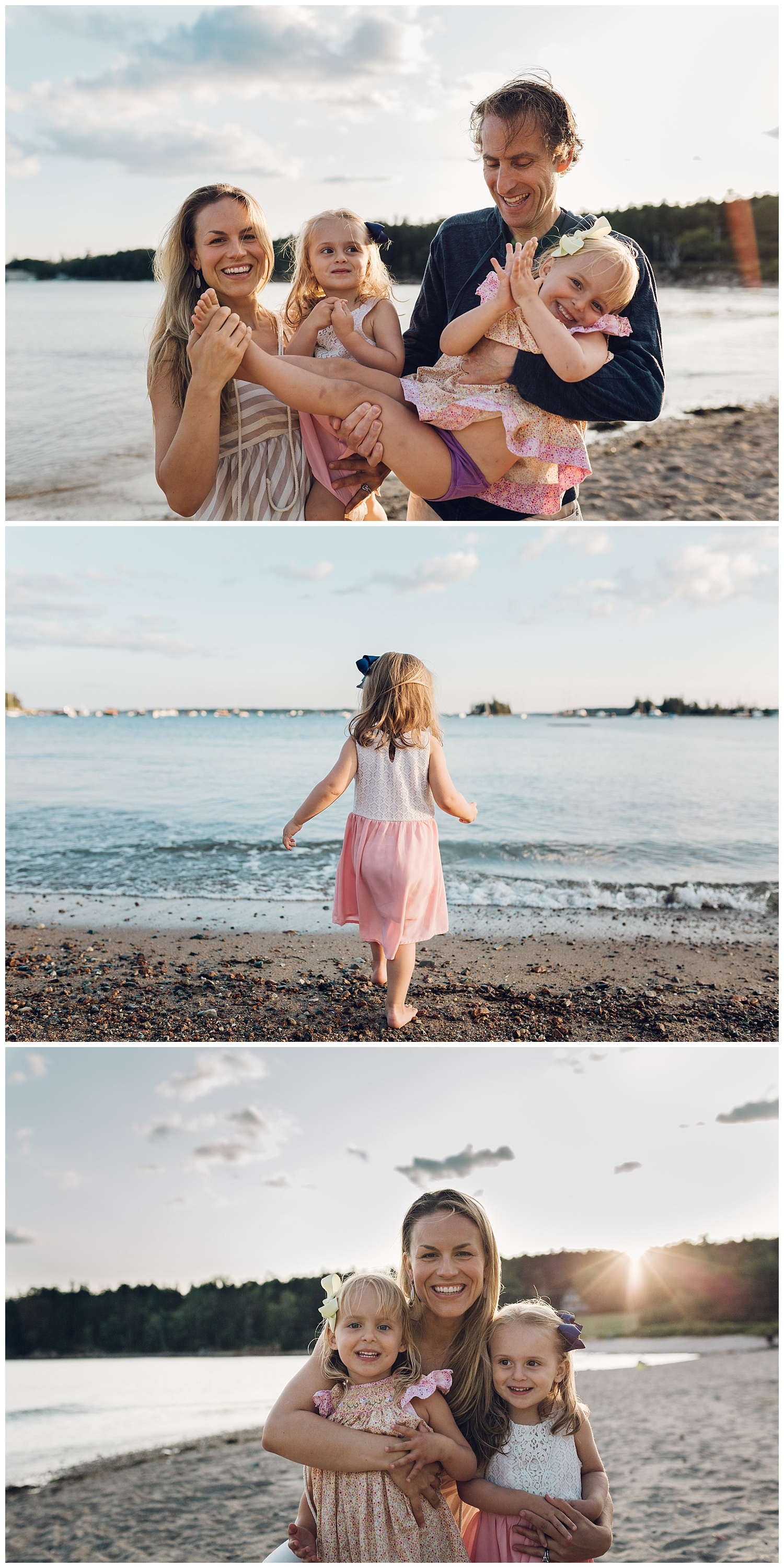 maine family session by laura barr photography