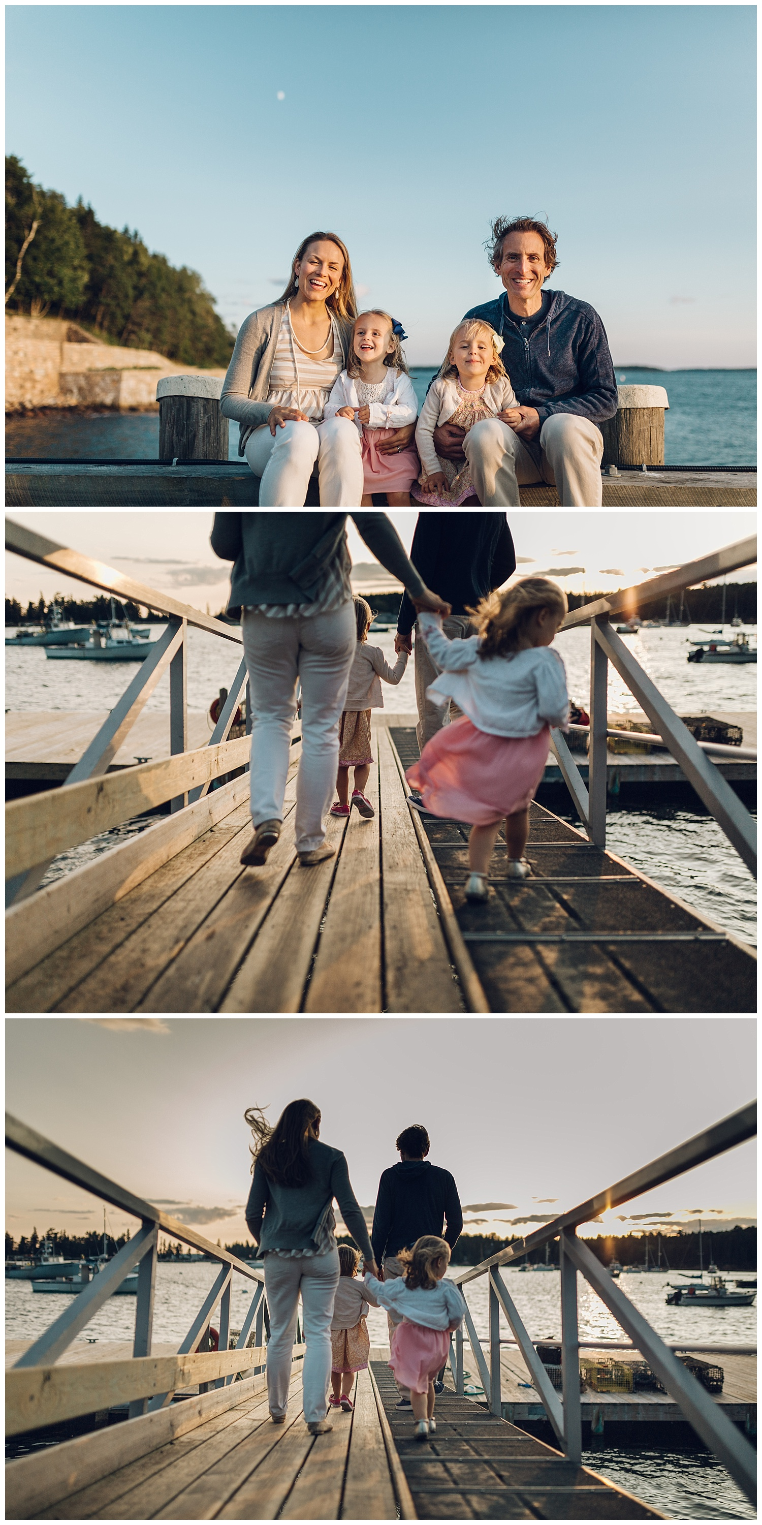 seal harbor docks session by laura barr photography