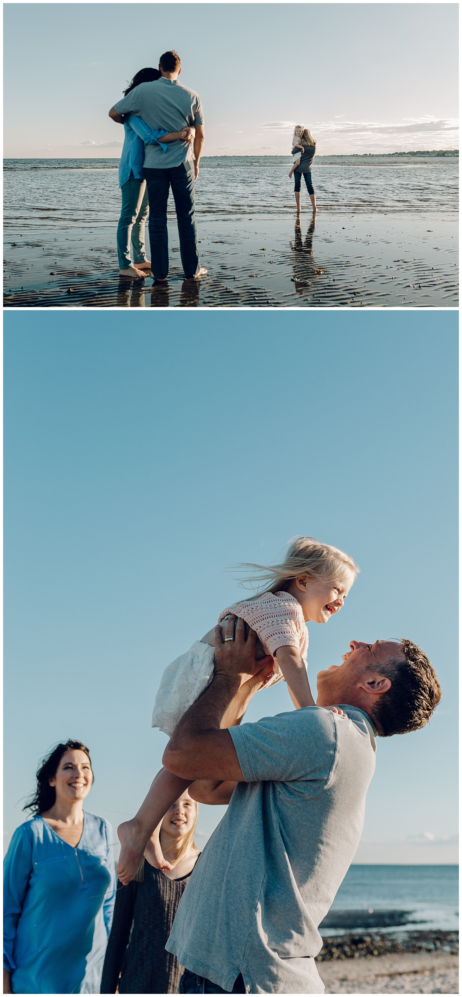 family beach session by laura barr photography