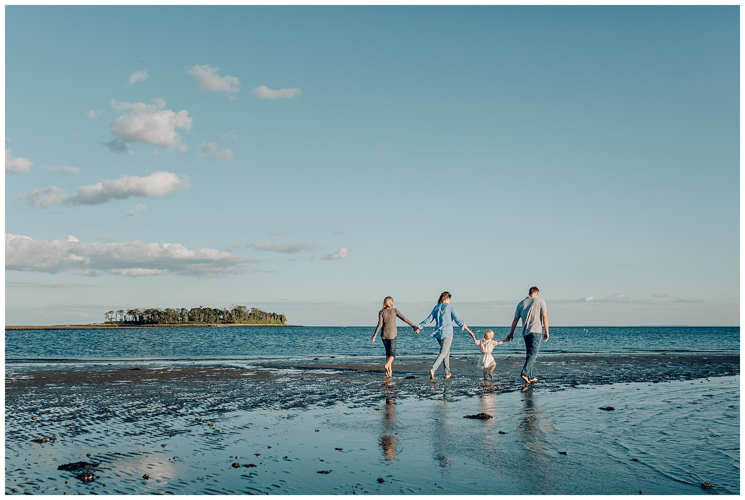 fairfield family beach session by laura barr photography