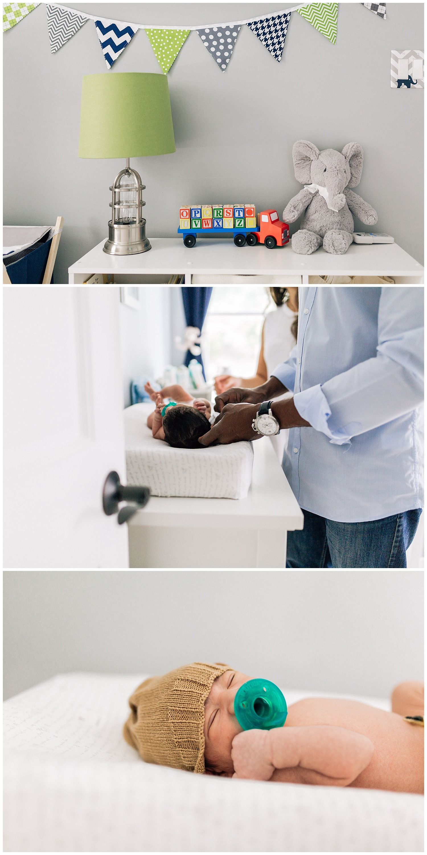 newborn nursery by laura barr photography