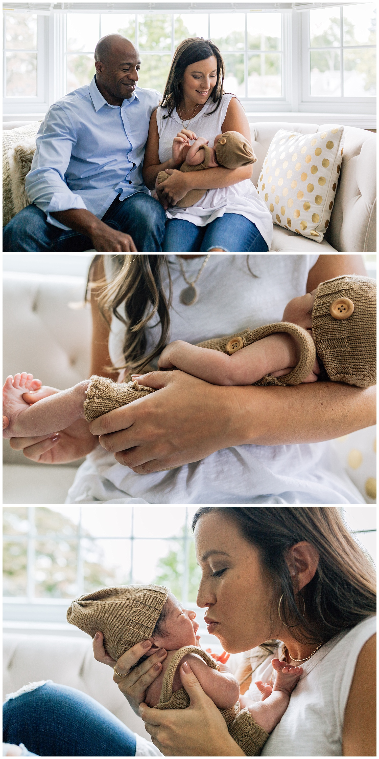 newborn lifestyle session by laura barr photography