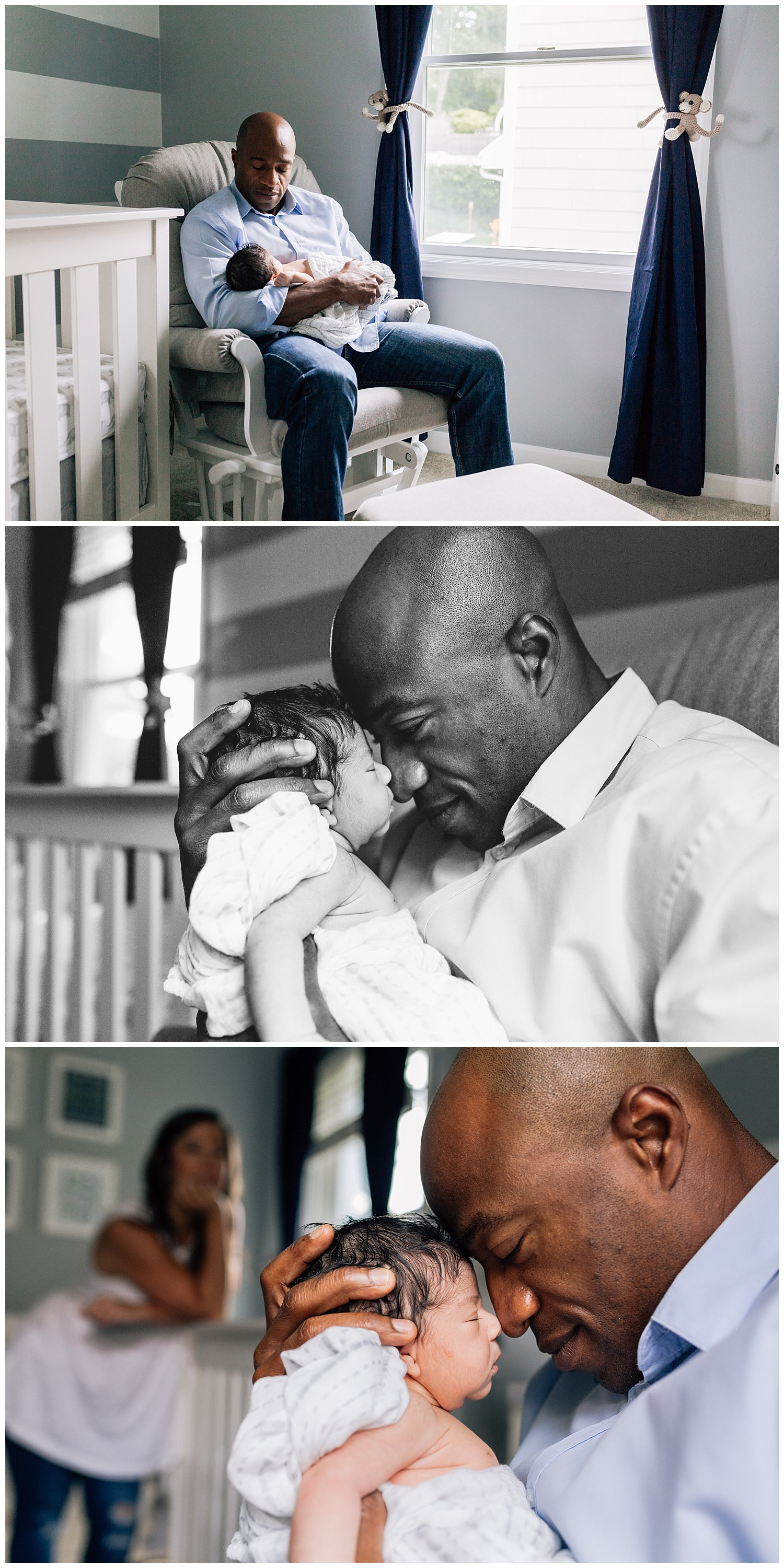 dad and his son by laura barr photography