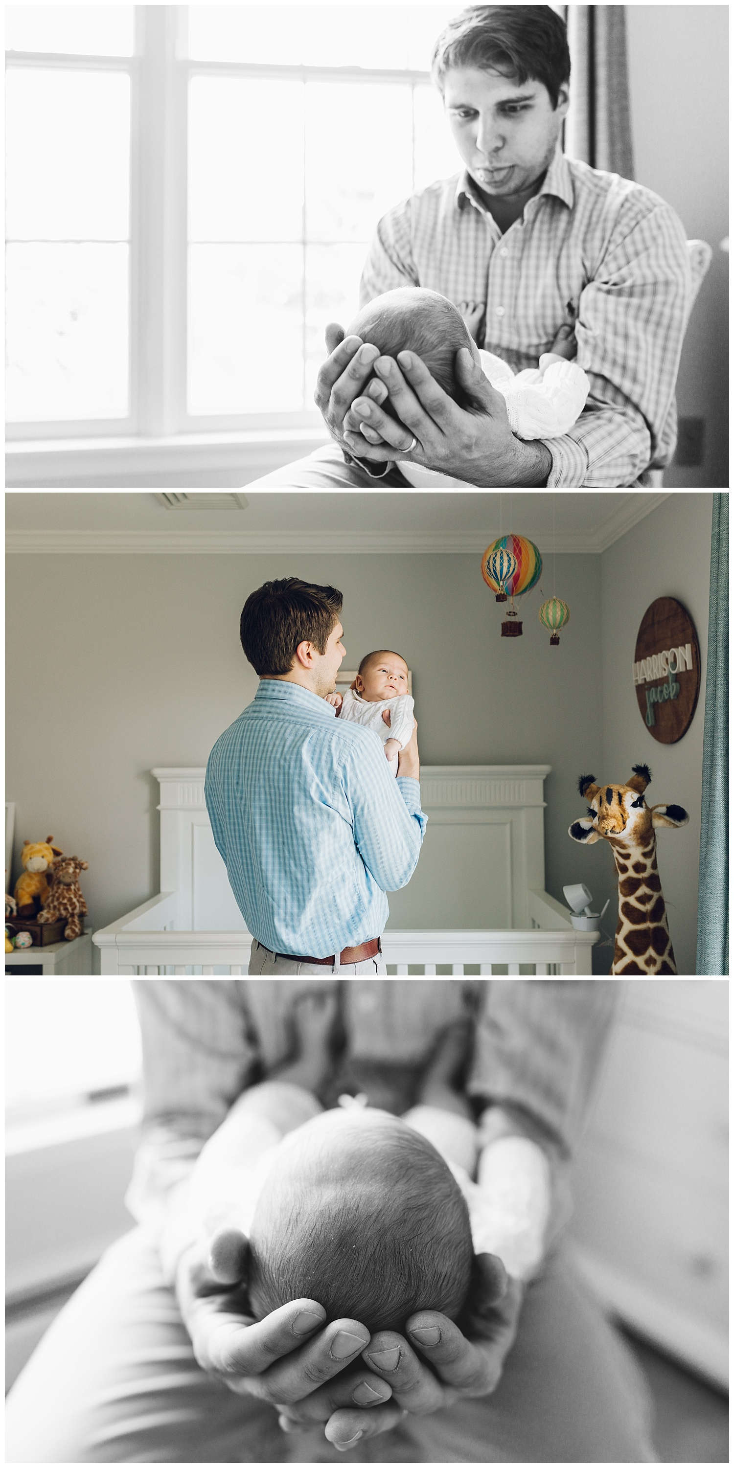 dad and baby by laura barr photography