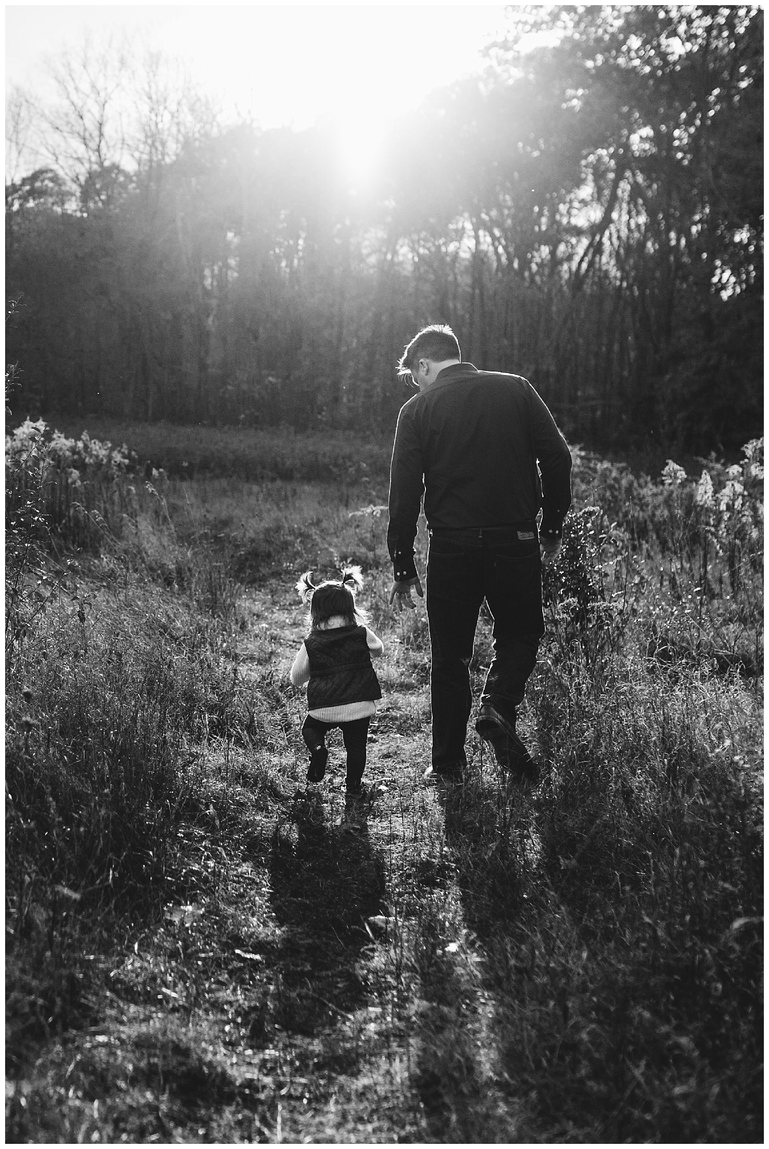 girl and her papa