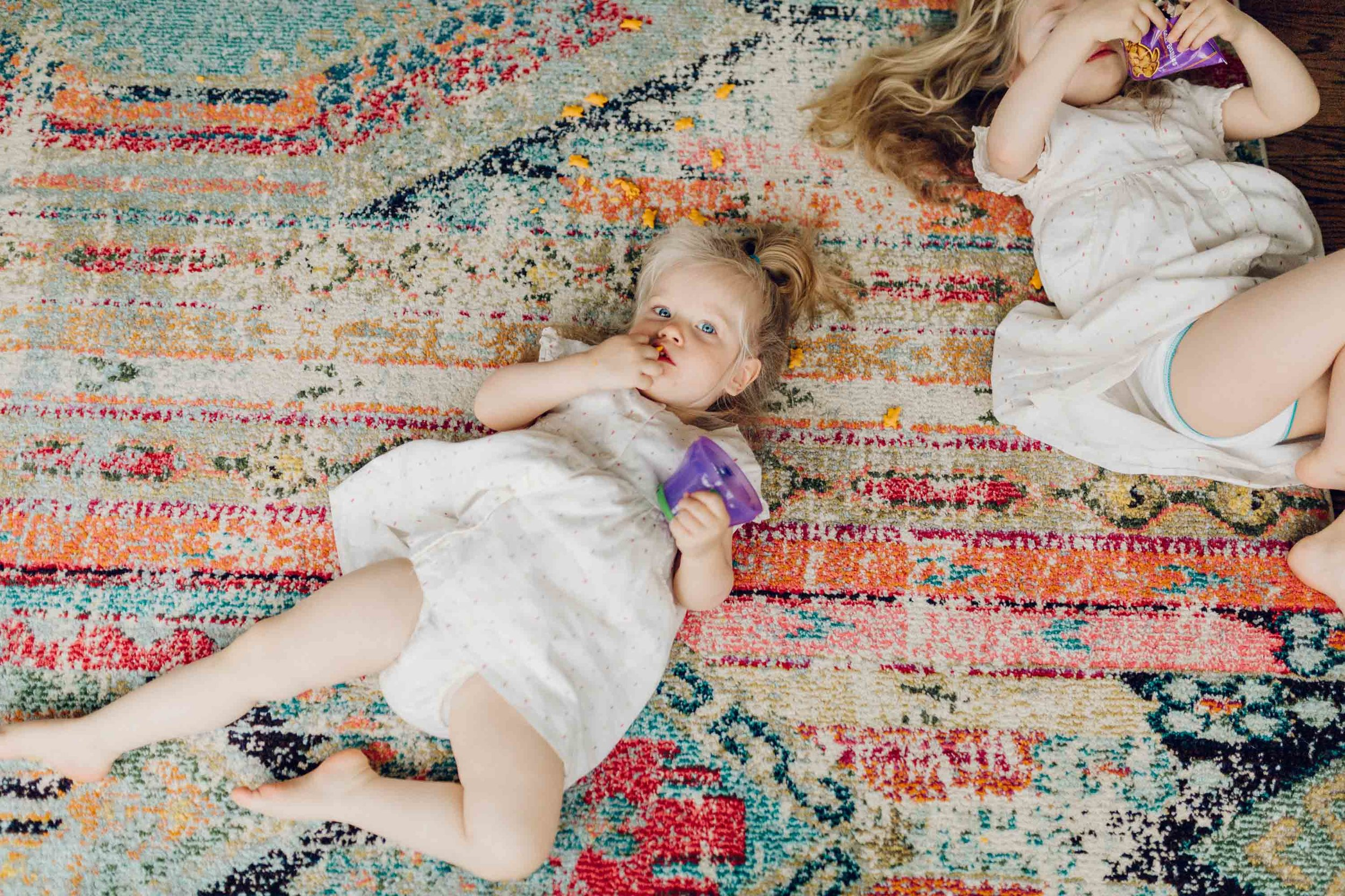 toddlers on the floor by laura barr photography in fairfield county connecticut