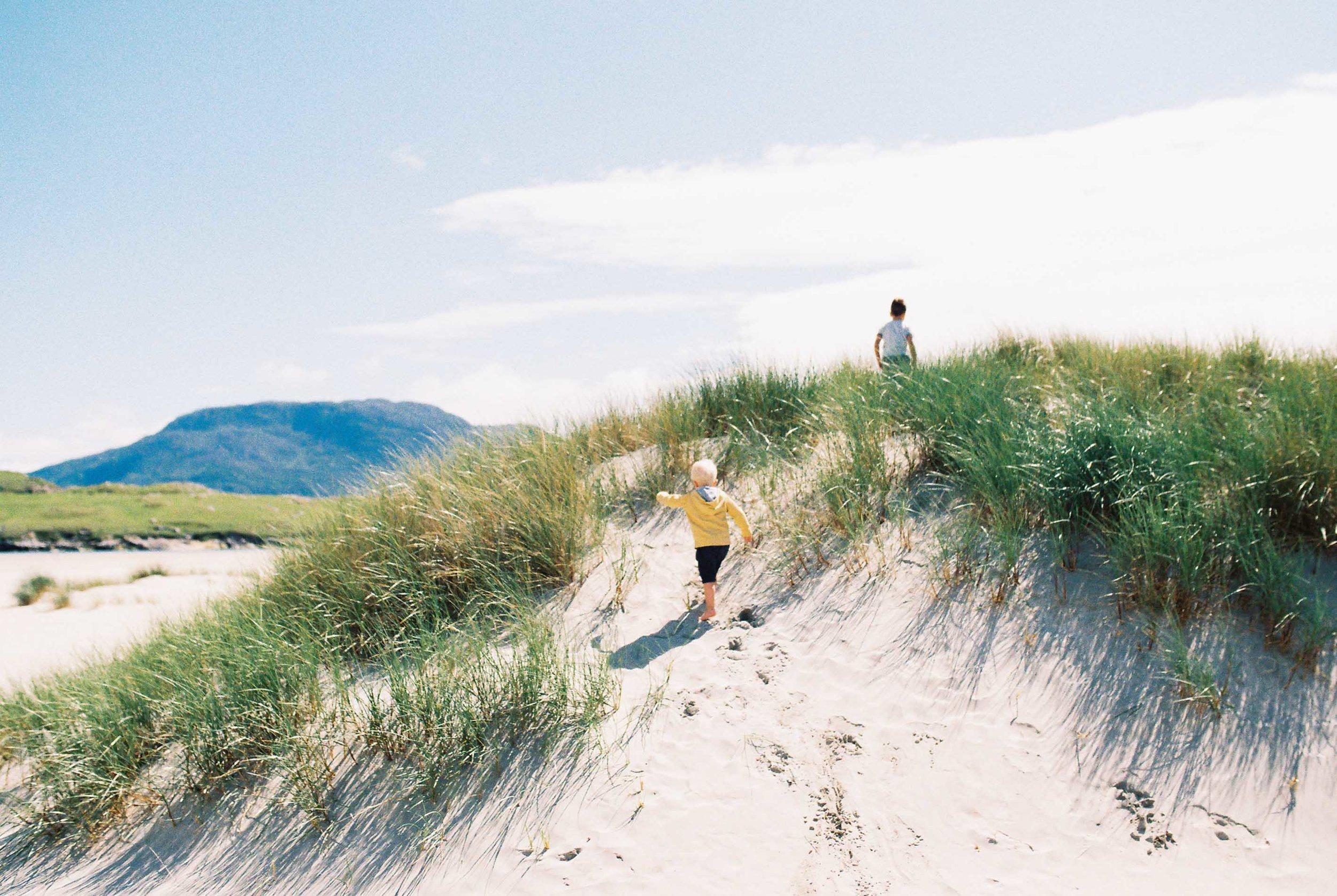 dunes of ireland on kodak by laura barr photography