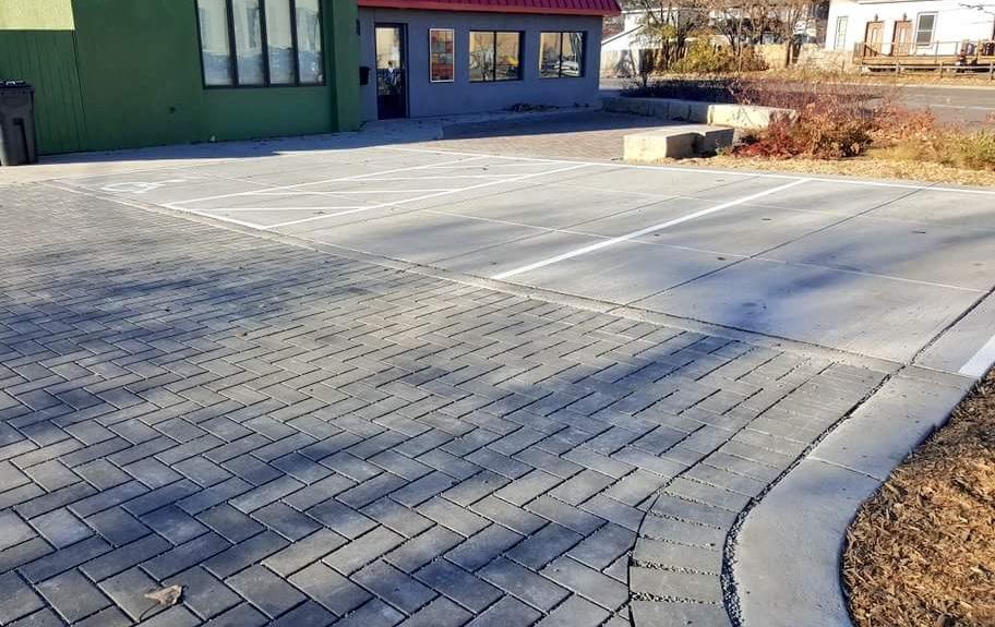 porous parking