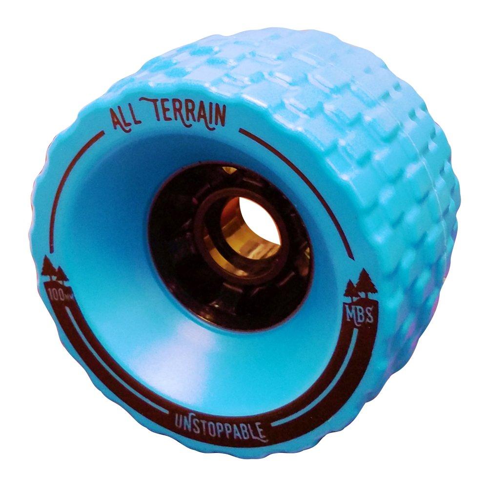 Set of 4 All Terrain Skateboard Longboard Wheels