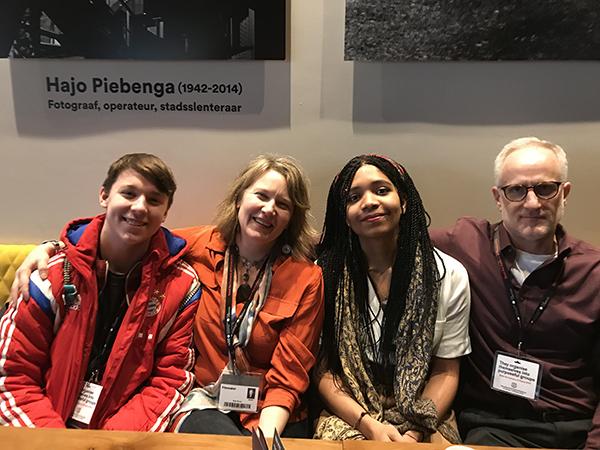 Arturo, Rian, Olive Nwosu and Geoff