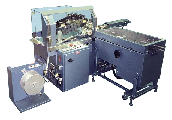 The RALS Automatic L-Bar shrink wrap packaging machine.