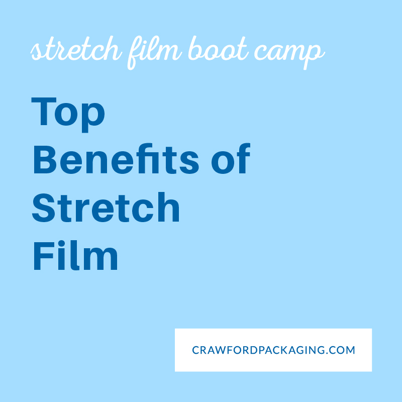 eLearning Guide Graphics Top Benefits of Stretch Film