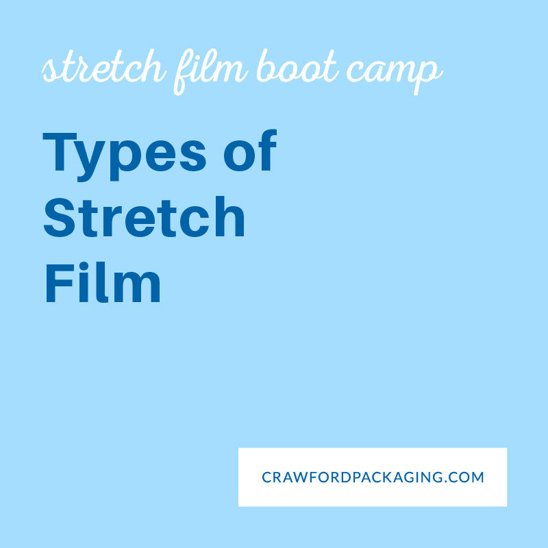 eLearning Guide Graphics Types of Stretch Film