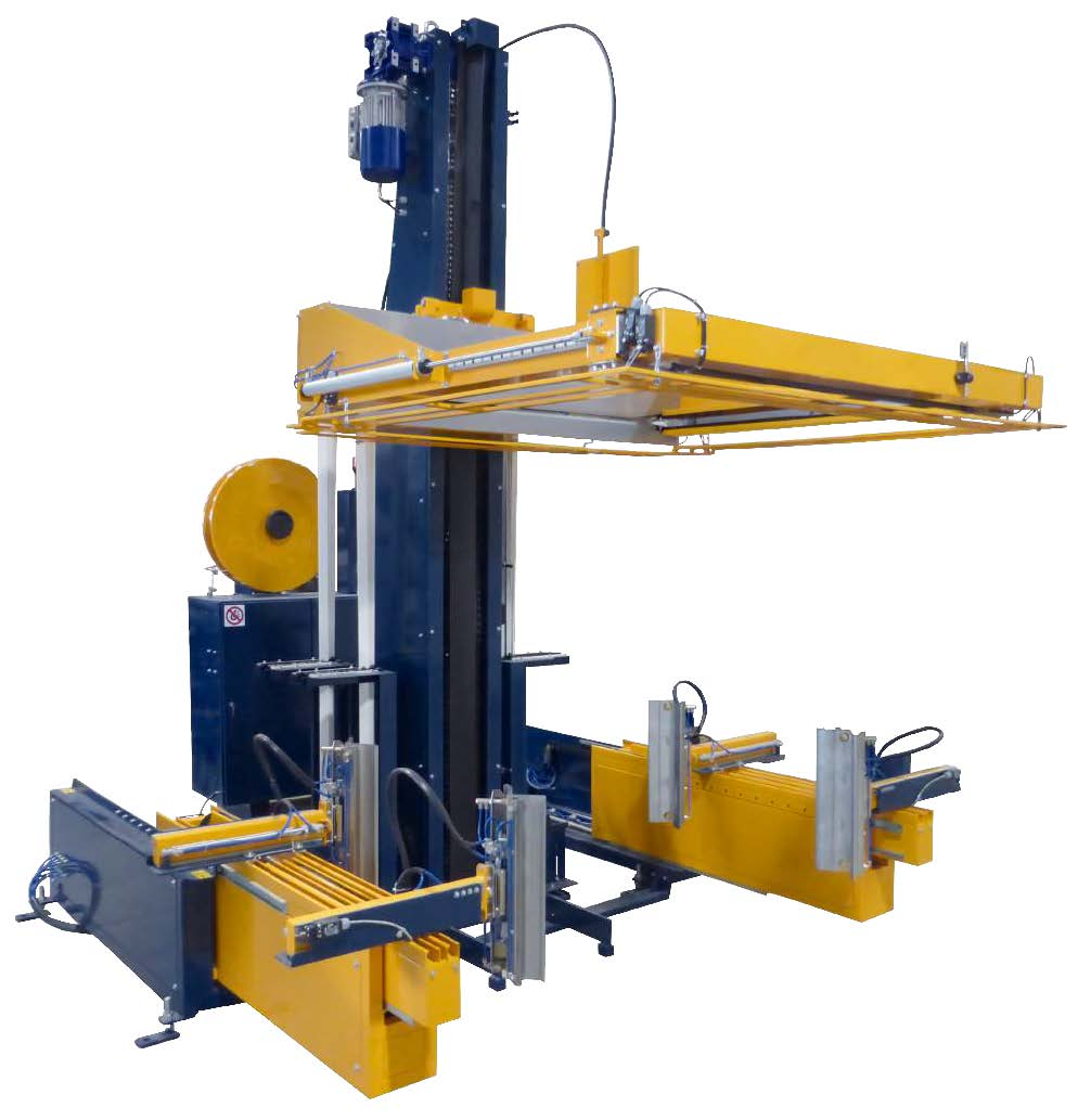 Reisopack 2904 Automatic Strapping Machine for Pallets