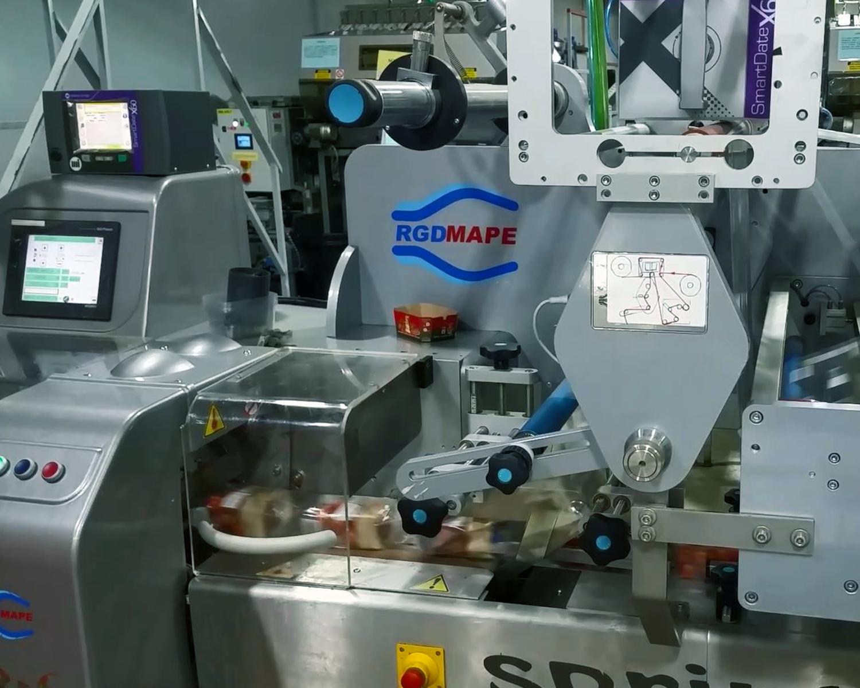RGD MAPE Flow Wrap Machine