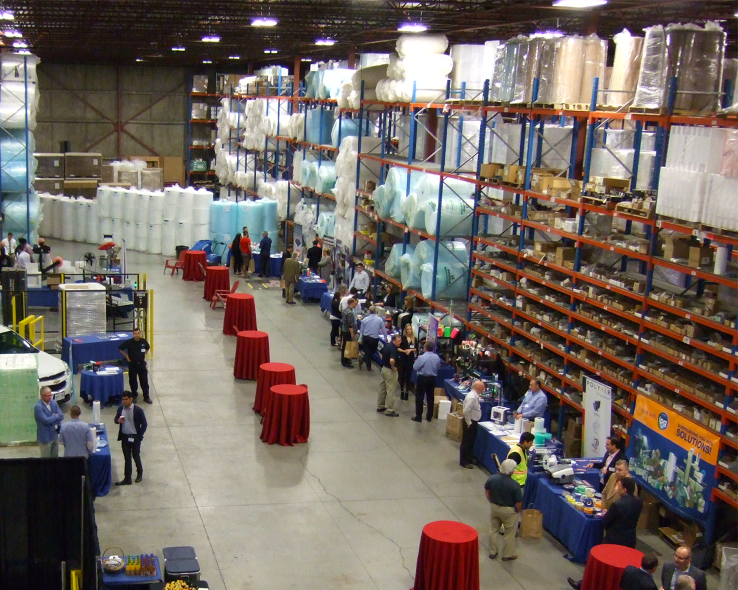 The Packaging Performance Expo hosted at Crawford Packaging Waterloo location.