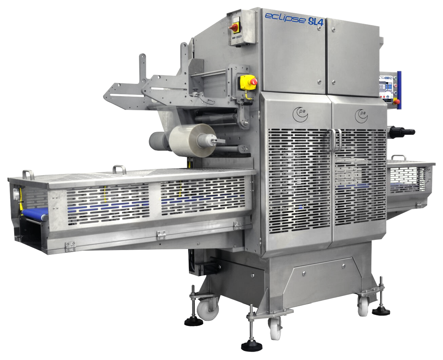 The Eclipse series Top Seal machine by Packaging Automation.