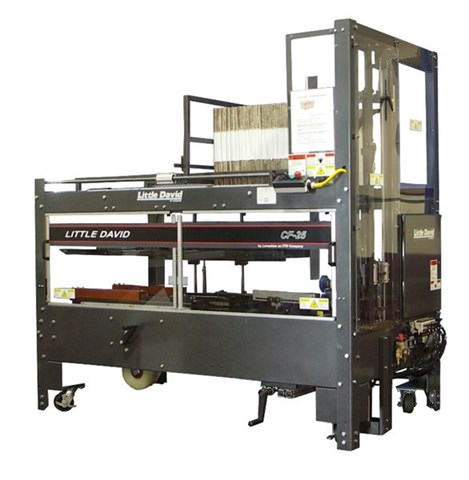 An automatic case erecting machine by Loveshaw Little David.