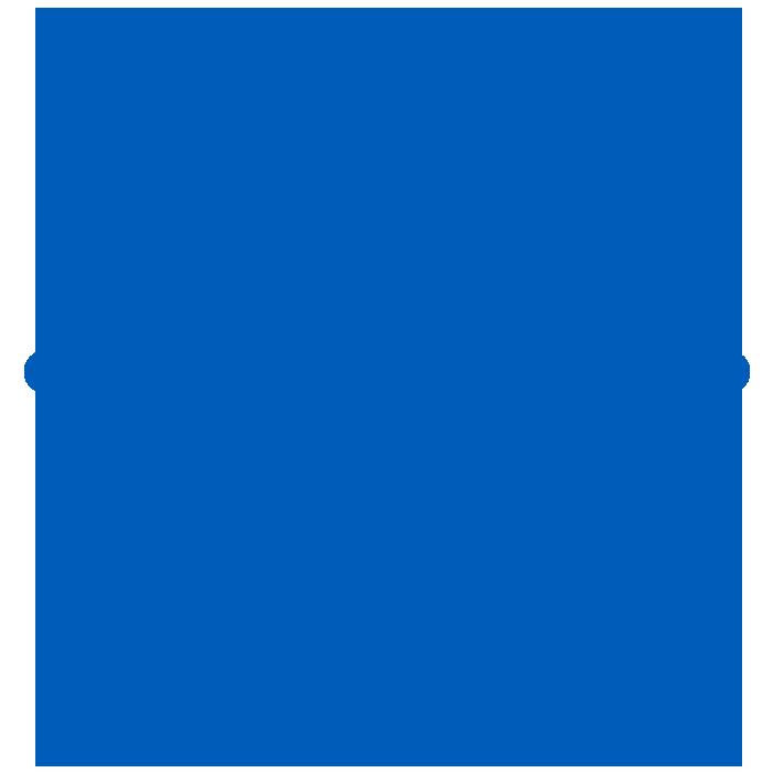 Blue lightbulb icon