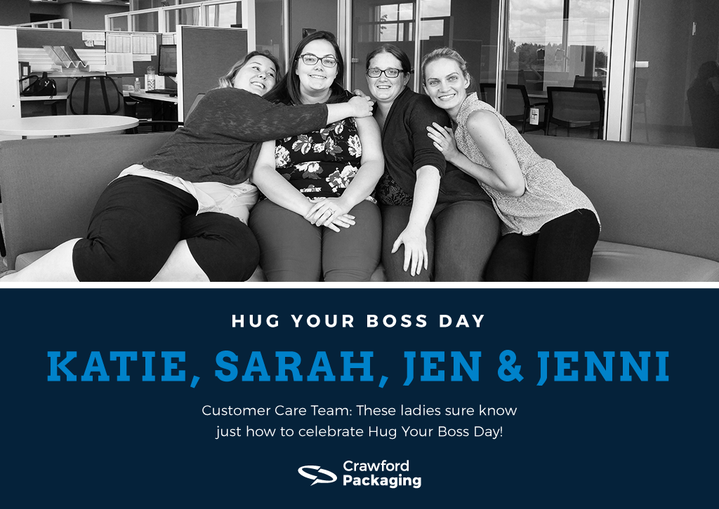 Customer Care Hug Your Boss Day