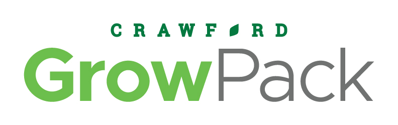 Crawford Packaging's GrowPack Produce Packaging Consumables Private Brand Logo