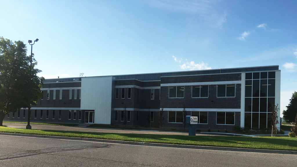 exterior photo of crawford packaging london