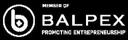 Balpex Member Logo White