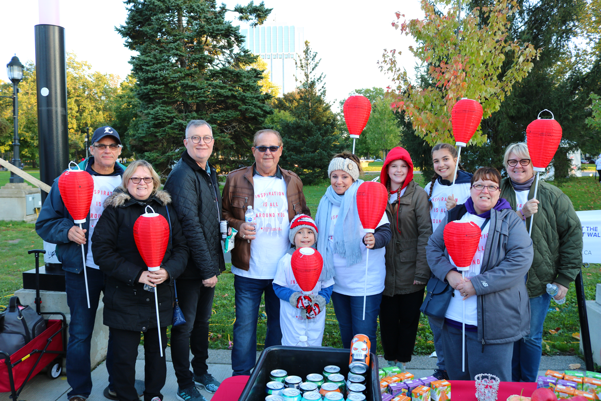 crawford packaging in victoria park at light the night event 2018