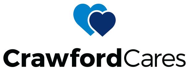 crawford cares logo colour