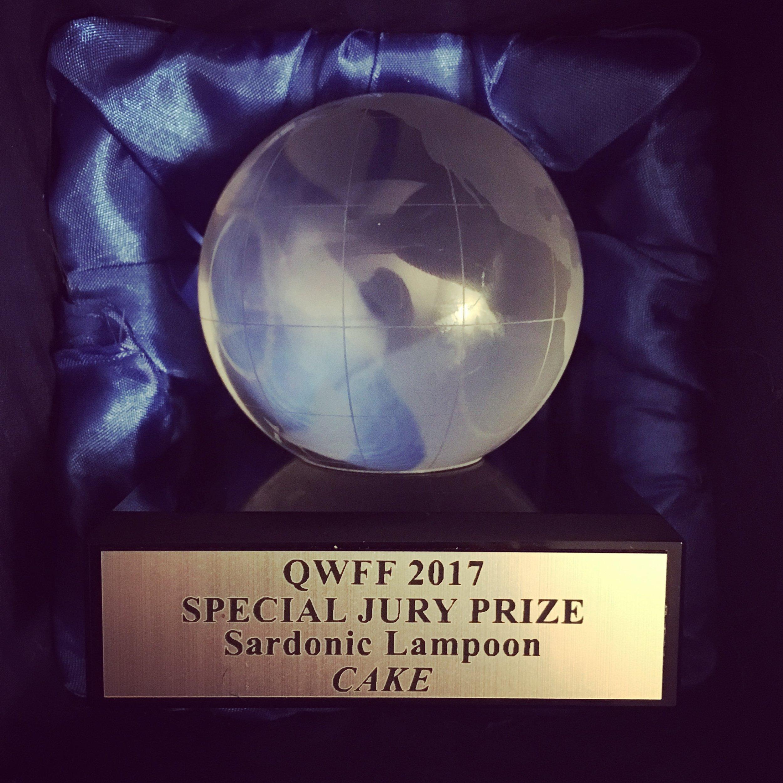 Special Jury Prize for Sardonic Lampoon