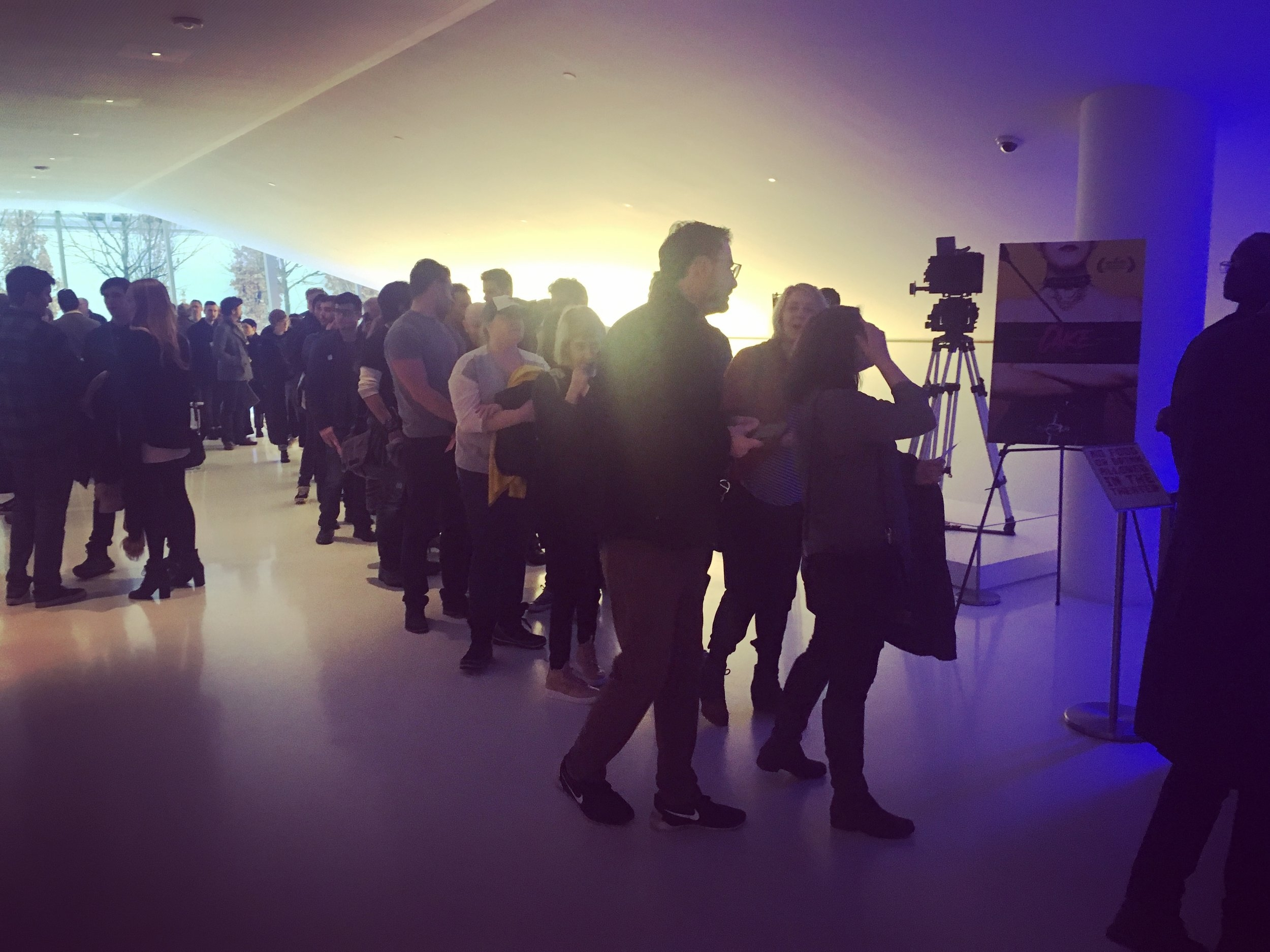 """The """"Kandy Krush"""" Line at the Museum of the Moving Image!"""