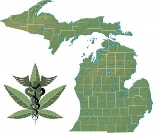 Michigan - In 2008, voters approved Proposal 1 by 63% to approve medical cannabis for treatment for debilitating medical conditions and remove criminal penalties for patients who may possess up to two and one-half (2.5) ounces of usable marijuana and twelve marijuana plants kept in an enclosed, locked facility.