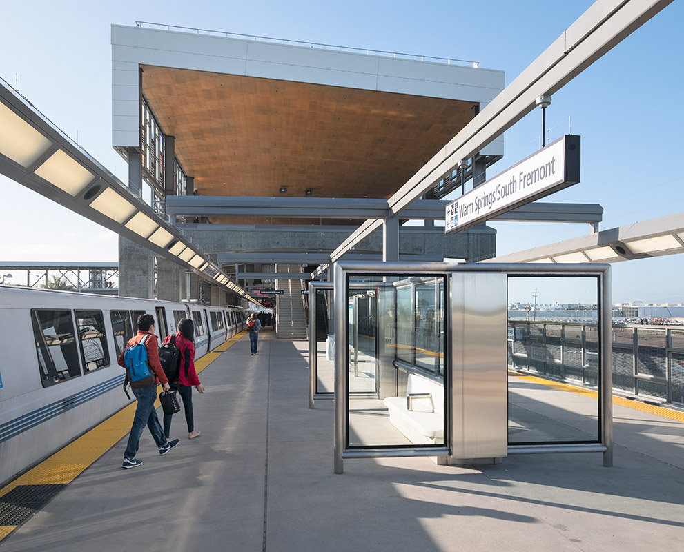 Warm Springs BART station