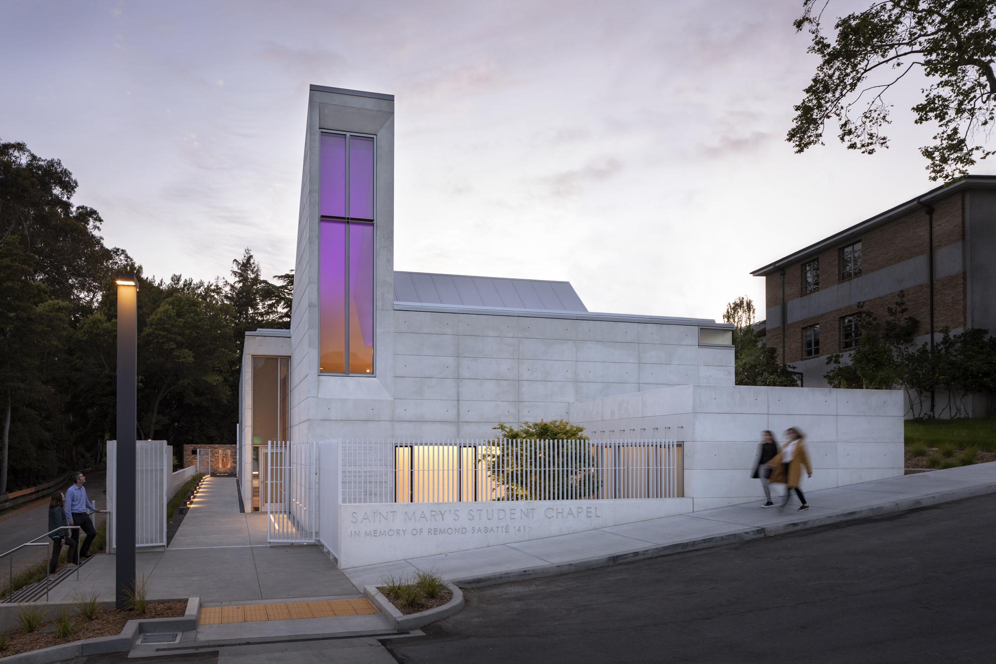 Saint Mary's student chapel Albany, CA